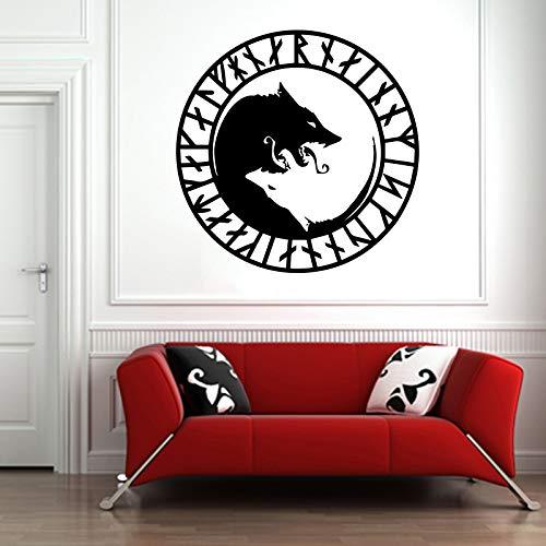 Fenrir Wolf Animal Scandinavian Norse Mythology Wall Vinyl Sticker Car Mural Decal Art Decor LP8468