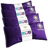 Happy Wraps Namaste Yoga Eye Pillows - Lavender Eye Pillows for Yoga - Hot Cold Aromatherapy Eye Pillow for...