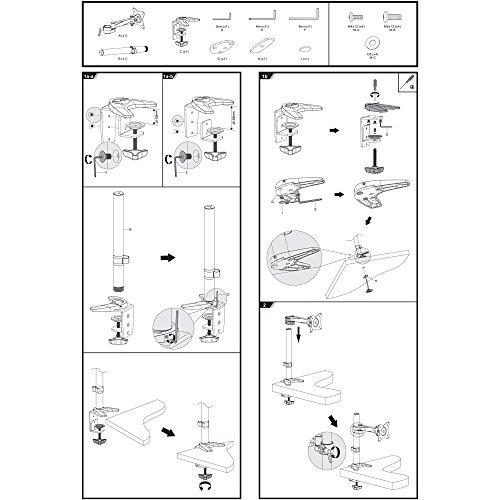 SAVONGA – 522201L Monitor Halterung (13″ bis 30″) - 9