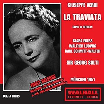 Verdi: La traviata (Sung in German) [Recorded 1951]