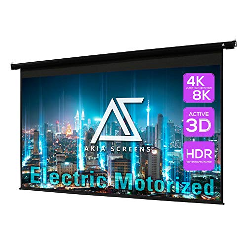 150 inch motorized screen - 2