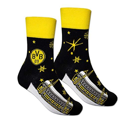 Borussia Dortmund Winter-Socken, Gr. 35-38