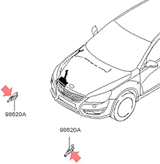 Automotiveapple OEM 986302L100 Windshield Washer Nozzle for 2010-2016 Kia Cadenza K7