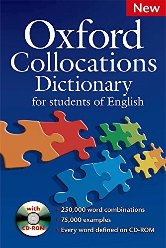 By McIntosh, Colin ( Author ) [ Oxford Collocations Dictionary: For Students of English [With CDROM] By May-2009 Paperback