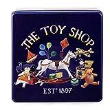 Lata de metal de la tienda de juguetes de la abuela Wild con abanicos de mantequilla - 1 x 400...