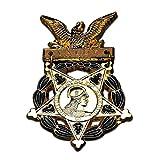 Kocreat Medalla de honor del ejército de los Estados Unidos réplica insignia-WW2 USA URSS Militar Badge Medalla Colección Orden de la Guerra Patriótica Premio Recuerdos Lapel Pins Copia