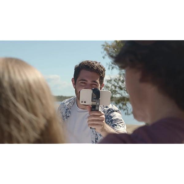 Gimbal Smartphone – Hohem 3 Assi Stabilizzatore Smartphone Portatile con 5 Modalità per Vlog/Youtuber, Stabilizzatore Video Caricamento 280g per Iphone 12/11/Xs Max/Samsung Galaxy/Huaiwei/Xiaomi etc 7 spesavip