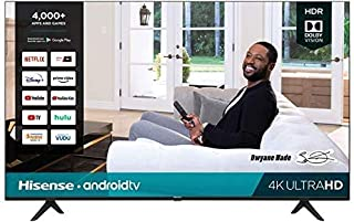 Hisense 43-Inch Class H6570G 4K Ultra HD Android Smart TV with Alexa Compatibility | 2020 Model