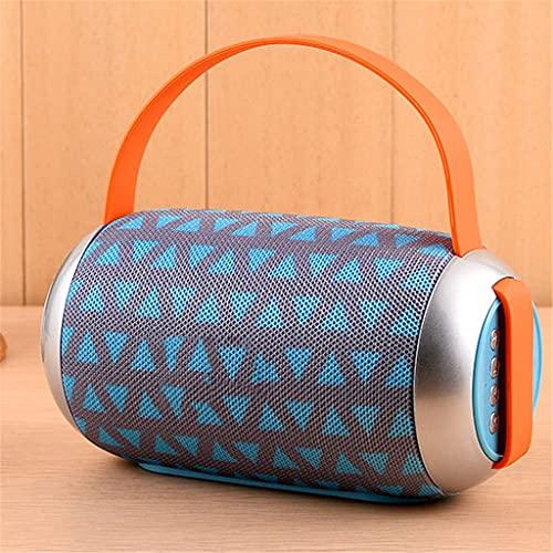 ZZNNN Pequeño Altavoz Bluetooth Altavoces portátiles Ligeros Altavoz estéreo bajo Caja de Sonido al Aire Libre