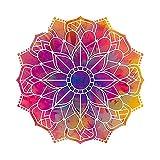 A/X 13 cm x 13 cm Mandala calcomanía Mandala Pegatinas para Ordenador portátil calcomanías de Coche para Regalo Hippie calcomanía de Vinilo