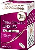 JUVAMINE Peau Cheveux Ongles, 40 Gélules, 40 Unités