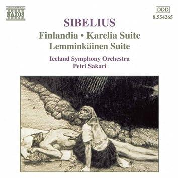 Sibelius: Finlandia / Karelia Suite / Lemminkainen Suite