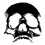 Juego de 2 pegatinas tuning de calavera 11 skull moto custom decal coche 2 stickers 10x10,5 cm