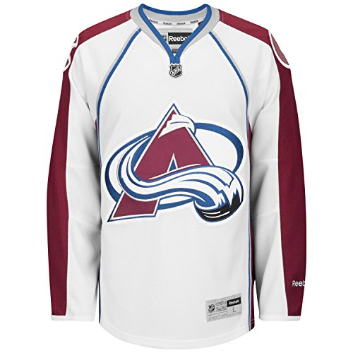 Reebok Colorado Avalanche Premier Away Team Jersey (White) Medium