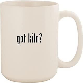got kiln? - White 15oz Ceramic Coffee Mug Cup