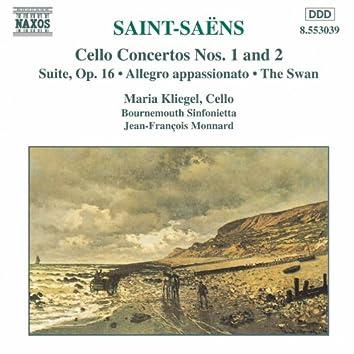 SAINT-SAENS: Cello Concertos Nos. 1 and 2 / Suite, Op. 16