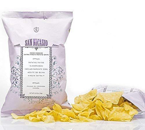 San Nicasio Kartoffelchips/ 100% natürlich/ ohne Zusatzstoffe/ Geschmacksverstärker/ ohne Konservierungsstoffe/Ohne Gluten/Vegan