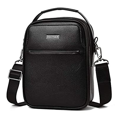 Genuine Leather messenger Bag for Men Business ...