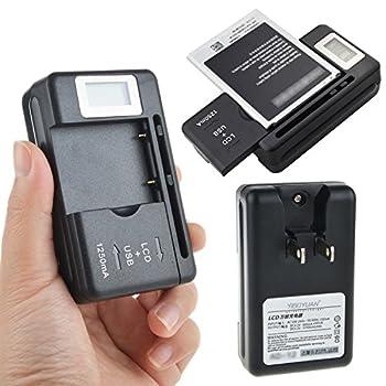 Digipartspower for Pantech Breeze II P2000 PBR-46A YIBOYUAN Universal Battery Charger AC-04