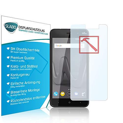 Slabo Premium Panzerglasfolie für Wiko Lenny 4 Echtglas Bildschirmschutzfolie Schutzfolie Folie Tempered Glass KLAR - 9H Hartglas