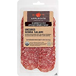 Applegate, Organic Uncured Genoa Salami, 4oz