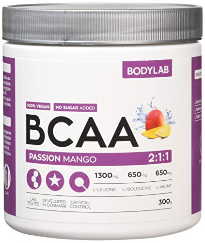 Bodylab BCAA 2:1:1 Powder Mango Passionfruit 1 Each 400 g