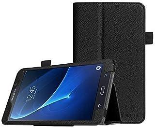 جراب Fintie Folio لهاتف Samsung Galaxy Tab A 7.0 - جراب بحامل مطوي من الجلد النباتي الممتاز مناسب لهاتف Samsung Galaxy Tab...