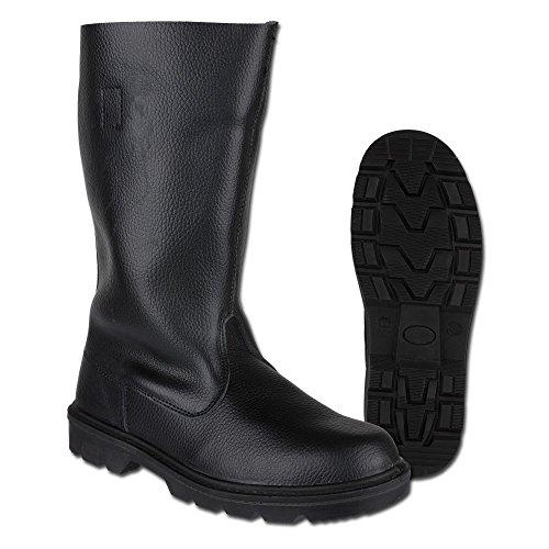 Mil-Tec Stiefel Knobelbecher Leder schwarz Schuhgröße 43.5