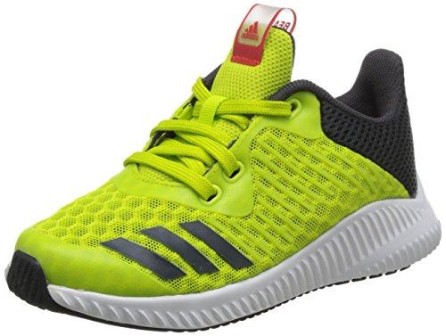 adidas Unisex-Kinder Fortarun Cool K Laufschuhe, Gelb (Amarillo/(Seamso/Carbon/Ftwbla) 000), 38 EU