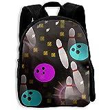 Sac De Livre Bowling Bookbag Daypack Boys Children Girl Shoulder Bag Backpack Casual Print School