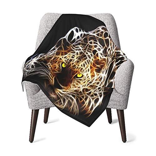 Olverz Manta de leopardo láser para bebé, cómoda manta de bebé de felpa gruesa manta de bebé suave manta de bebé para cochecito cuna recién nacidos