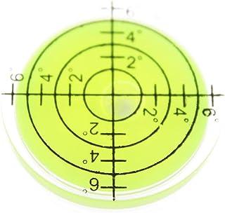 Olive-G 小型 メモリ タイプ 水平器 水準器 傾斜 測定 アナログ 丸型 グリーン