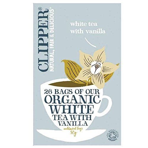 Clipper | White Tea With Vanilla | 6 x 26 Bags