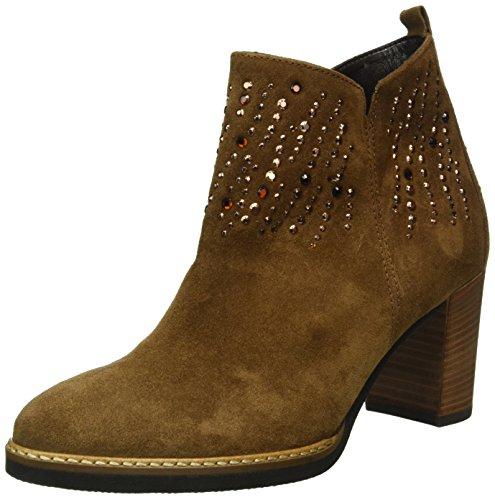 Gabor Shoes Damen Comfort Sport Kurzschaft Stiefel, Braun (Ranch(Ss/N/AN/Mic) 34), 41 EU
