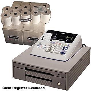 eposbits® marca rollos para Casio TE-M80, TEM80te m80TEM-80, TM80–80TM-80caja registradora–40rollos