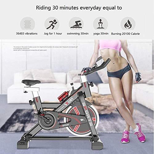 YAYY Stoge Home Workout Bicicleta estática Bicicleta para A