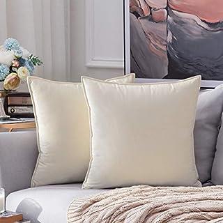 CayCay Cojín Terciopelo Mezcla Almohada nórdica Color sólido Almohada Almohada cojín cojín cojín Sala de Estar sofá Almohada 30x50cm 82