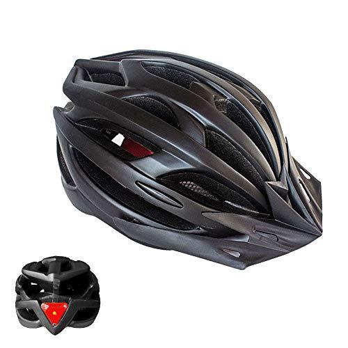 Feicuan Casco de MTB Ciclismo para Hombres Mujeres - 52-61 cm Casco Bicicleta con Parasol Amovible Diadema Ajustable para Montaña Carretera Patineta Scooter Patinar