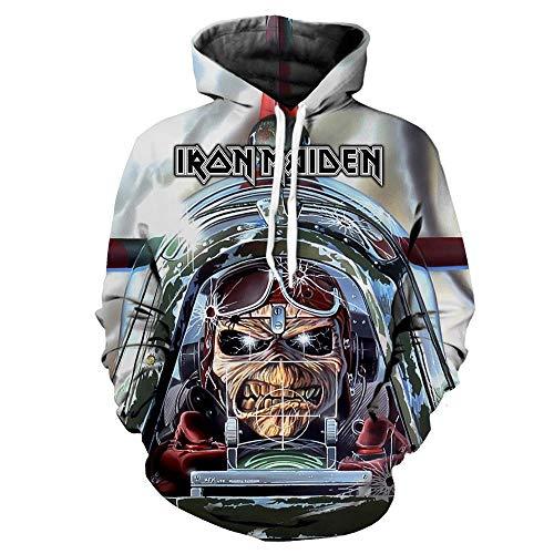Unisex Iron Maiden Sudaderas Trendy Handsome Spring