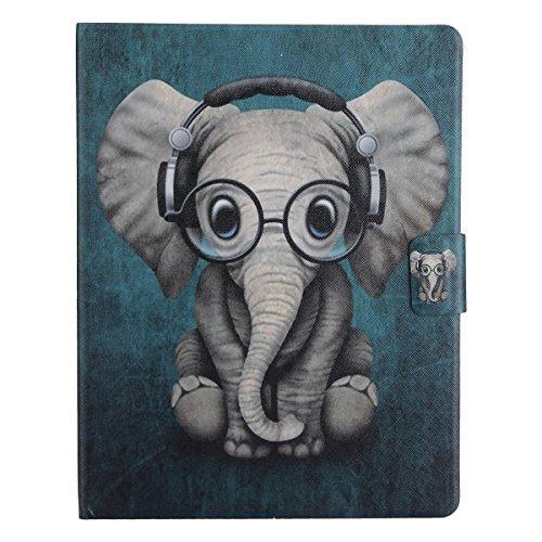 Ssowun Fletion Coque iPad 2 iPad 3 iPad 4 Housse Etui Smart Cover pour Tablette Apple iPad, en PU Cuir avec Mise en Veille Automatique Cover Case Housse