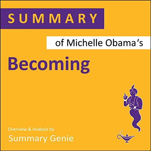 Couverture de Summary of Michelle Obama's Becoming