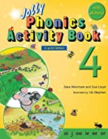 Jolly Phonics Activity Book 4: In Print Letters (American English Edition) (Jolly Phonics Activity Books, Set 1-7)