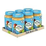 Naturnes BIO Tarritos fruta Nestlé Manzana plátano 190g - Pack de 6