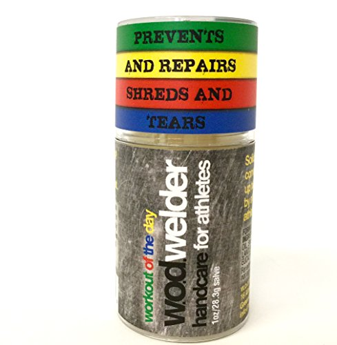 Callus Repair Hand Care Treatment Salve By WOD Welder - For Fitness Athletes, Gymnastics, Weightlifters, and Rock Climbing - Heals Rips and Tears, No Shaver Speeds Recovery - Smells Great, All Natural
