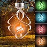 Solar Lights Outdoor Yard Decorations Wind Chimes Lights LED Colour Changing Hanging Light for Design Decoration for Garden, Patio, Balcony Gift