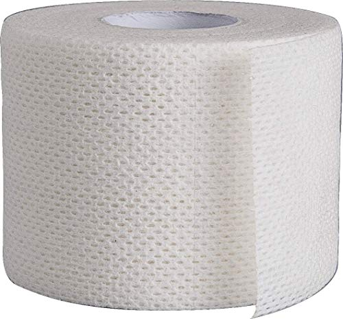 Surgical Tape Porous Skin Soft Fabric Cloth Adhesive Tape 2' x 10 Yards Three Rolls by Areza Medical