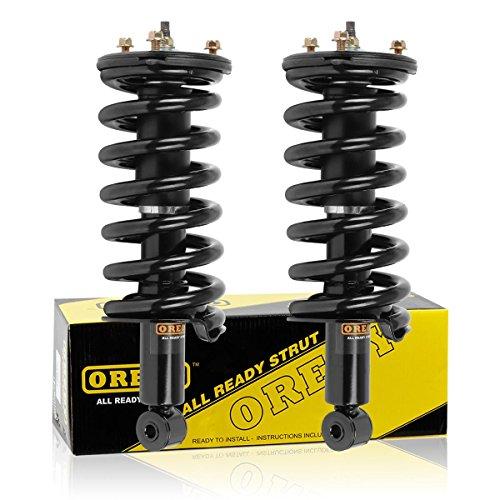 OREDY Shocks and Struts 2PCS Front Complete Shocks Struts Assembly Suspension Strut and Coil Spring Assembly Shocks Struts Kit 11300 171358 ST8605 Compatible with Titan 2004-2015,2017-2019