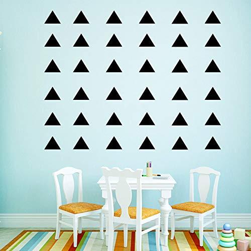 Ajcwhml Geométrico Triangular Etiqueta de la Pared Pegatina decoración del hogar decoración del hogar habitación de los niños casa Pared Arte calcomanía