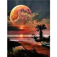 3000ピースジグソーパズル海の月明かり木製パズル3000ピース87 * 110CM