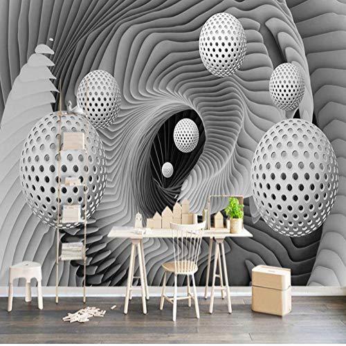 Cartoon 3D Wandbild Tapete Modern Abstract Sphere Space Whirlpool Art Wandmalerei Wohnzimmer TV Hintergrund Wall Papers Roll-2